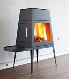 Classic angular lines, simple, elegant yet functional, the Skanterm Shaker is a distinctive and beautiful stove which, as far as I an concerned, cannot be improved upon.  This model has won the Red Dot Award which recognises  high design quality. / www.Stovesonline.co.uk