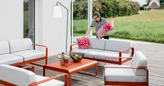 For existing patio - available in many colors. 15 percent off at Potted right now