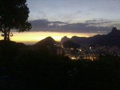 Rio de Janeiro anoitecendo