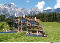Luxuschalets in Leogang: SENHOOG Luxury Holiday Homes Hotels, Spa, Das Hotel, Luxury Interior, Luxury Lifestyle, Cabin, House Styles, Travel, Austria