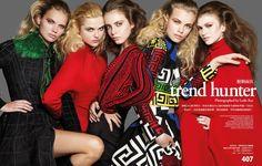 #VersaceEditorials - Glam allure. VOGUE Taiwan - October '15 #Versace Stylist: Ryoko Kishimoto Photographer: Leslie Kee