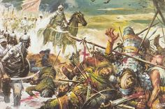Al-Andalus ( الأندلس ) The Battle of Guadalete was fought in 711 or 712 at an unidentified location between the Christian Visigoths of Hispania under their king, Roderic, and an invading force of Muslim Arabs and Berbers under the Berber commander Ṭāriq ibn Ziyad. The battle was significant as the culmination of a series of Berber attacks and the beginning of the Islamic conquest of Hispania. In the battle Roderic probably lost his life.