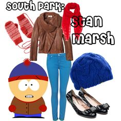 South Park: Stan Marsh, created by allysaurus on Polyvore