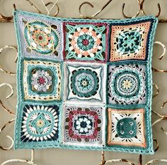 Moroccan crochet squares