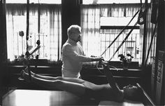 Just like Joe (Pilates) we now have a reformer in FIX!