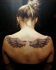 Wings tattoo - Magic Tattoo Prague