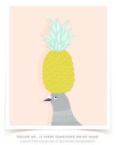 bird-with-pineapple