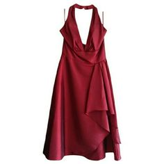 HOST PICK Dress NWT Size 10 FINAL PRICE Beautiful wine red dress with deep v-shaped neckline with pleated detail with a wide waist band. High quality. Just need a quick sale. Bought this for my wedding a never wore it!   Lowest price! Davinci Dresses Backless
