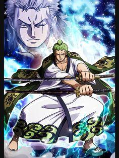 Roronoa Zoro Wano - one piece Poster - Gekiga Manga Manga Anime, Anime One, I Love Anime, Zoro One Piece, One Piece Ace, Roronoa Zoro, One Piece Wallpaper Iphone, One Piece World, One Piece Images