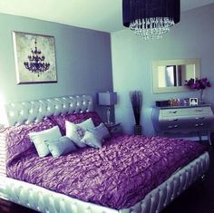 tufted bedframe • ruffles • bedroom