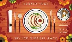 Turkey Trot by Rick Murphy
