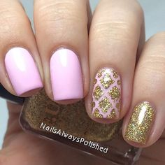 Perfection in a manicure by @nailsalwayspolished  Louise is using our Moroccan Nail Stencils found at: http://snailvinyls.com