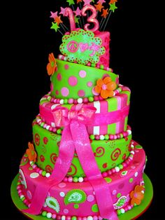 colorful and cute birthday cake ideas for girls Birthday Cake Ideas for Girls