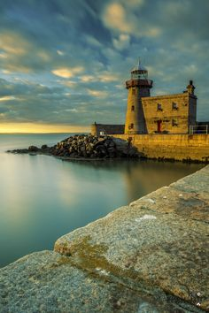 Howth #lighthouse. https://500px.com/photo/85319907/howth-lighthouse-by-adri-