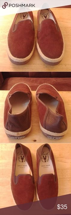 Cole Haan Men's Espadrilles Brown size 8. New w/o tags and w/o box Cole Haan Shoes Loafers & Slip-Ons