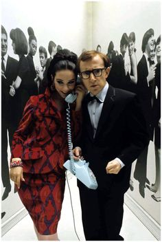 Woody Allen - Mademoiselle December 1965 (Congratulations for Golden Globes Best Screenplay! - Midnight in Paris) Woody Allen, I Movie, Movie Stars, Mademoiselle Magazine, 007 Casino Royale, Star Festival, Best Screenplay, Films Cinema, Hollywood