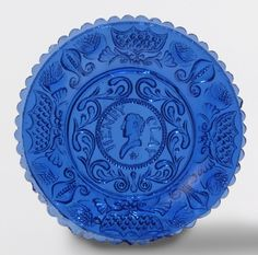 Boston and Sandwich Glass Company, Cup plate, 1831-51 (source).