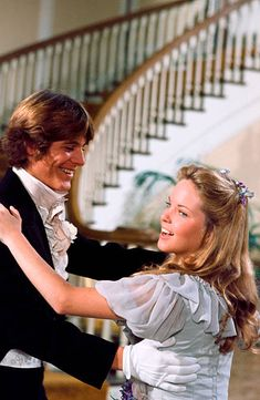 PRAIRIE 'Times of Change' Episode 2 Aired Pictured Radames Pera as John Sanderson Edwards Melissa Sue Anderson as Mary Ingalls Kendall
