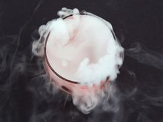 How to Use Dry Ice in Halloween Cocktails. Dry ice – the magic ingredient that makes cauldrons and coolers puff with fog – is a great addition to cocktails, too.