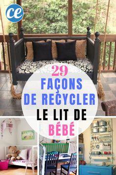 Garden Deco, Diy Recycle, Transformers, Life Hacks, Toddler Bed, Servent, Blog, Parents, Inspiration