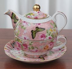 Chintz china teapot