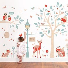 Woodland Wall Stickers ~ Tinyme