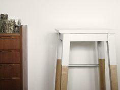 Surprising ikea henriksdal bar stool with backrest beige