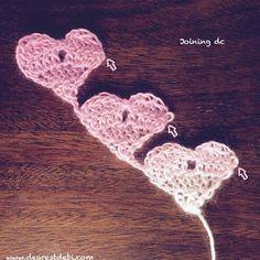 Crochet Love Triangl