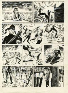 nightofthecomics:  La Fille by Christophe Blain