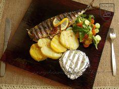 Gotowanie jest łatwe: Makrela i camembert z grilla