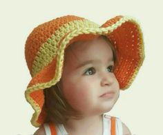 Ava's Summer Sun Hat - Free Crochet Pattern - The Lavender Chair