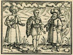 Dervishes. - SCHWEIGGER, Salomon - 1608 Whirling Dervish, Sufi, Dan, Empire, Ottoman