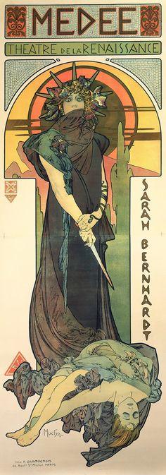 How Alphonse Mucha's Smoking Designs Made Art Nouveau