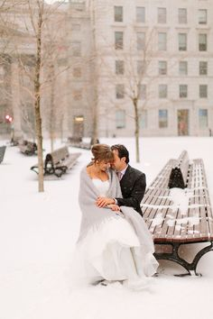 Mariage en hiver à Montréal par Bartek and Magda