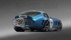 "1965 Shelby Daytona Coupe (rear) ""Ferrari Killer"" 