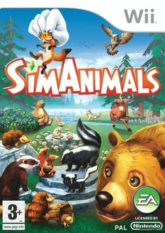 SimAnimals - Nintendo Wii Very Good Nintendo Wii Nintendo Wii Video Games Nintendo 3ds, Nintendo Switch, Wii U Games, Mighty Ape, Celebrity Travel, Electronic Art, Video Game Console, Video Games, Pokemon