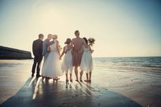 Perfect seaside wedding at Turner Contemporary in Margate, Kent- Assassynation ©