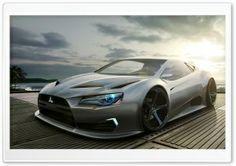 Mitsubishi Concept Car HD Wide Wallpaper for Widescreen