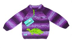 Check out this item in my Etsy shop https://www.etsy.com/listing/199709413/violet-knitted-sweater-with-green-turtle