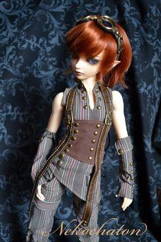 steampunk doll, looks a bit emo too, Fairytales Treasures