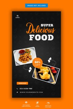 Food menu and restaurant instagram story... | Premium Psd #Freepik #psd #banner #food #menu #sale Food Graphic Design, Food Menu Design, Food Poster Design, Web Design, Web Banner Design, Web Banners, Food Sale Ideas, Banner Fashion, Food Font