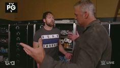 Dean Ambrose & Shane McMahon Shane Mcmahon, The Shield Wwe, Dean Ambrose, Wwe Wrestlers, Asylum, Husband, Wrestling, My Love, Celebrities