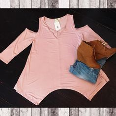 Light Pink Criss Cross Top