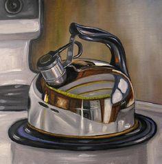 Teapot Still Life - Vic Vicini