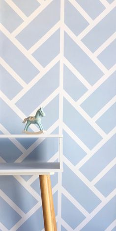 Mountain Peaks wallpaper in Blue 1 from our colour chart & White  All of our wallpaper patterns can be customised to suit you #wallpaper #kidswallpaper #bluewallpaper #nurserywallpaper #selfadhesivewallpaper