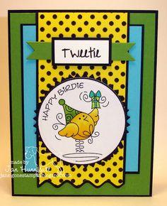 Fun colors -  http://www.jans-gonestampin.blogspot.com/2012/03/cuddly-buddly-happy-birdie.html