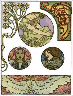 Documents Decoratifs (plate 46), by Alphonse Mucha, France, ca.1901 | Poster