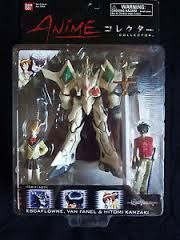 Anime Collection // Escaflowne Version: TV // Type of item: Figure // Company: Bandai // Origin: USA //  Release: ?? // Other notes: Set of 3 //