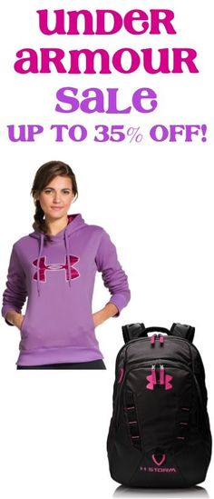 Under Armour Family Sale ~ score a sweet deal for yourself or for Back to School for the kids!