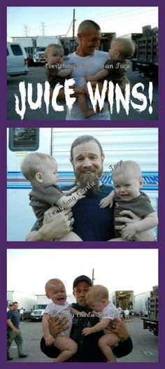 -ovaries explodes-  I <3 these tough men with babies!